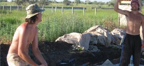 Лето 2011: Прими участие в строительстве экодома под Днепропетровском