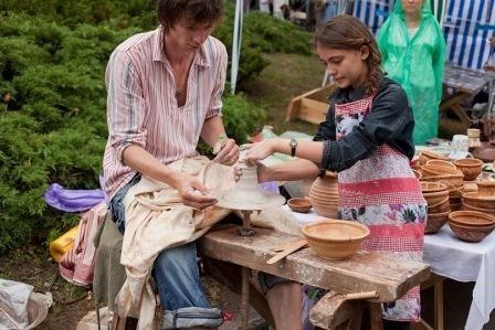 Практикум: Трипольская керамика без гончарного круга своими руками 6 сентября (Вт.) с 18:00 до 21:00 в Киеве