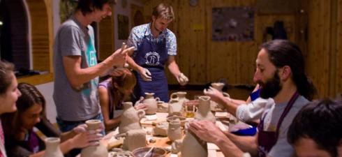 С 1 ноября 2011 г. пятидневный курс по керамике «Не боги горшки ожигают» в Киеве